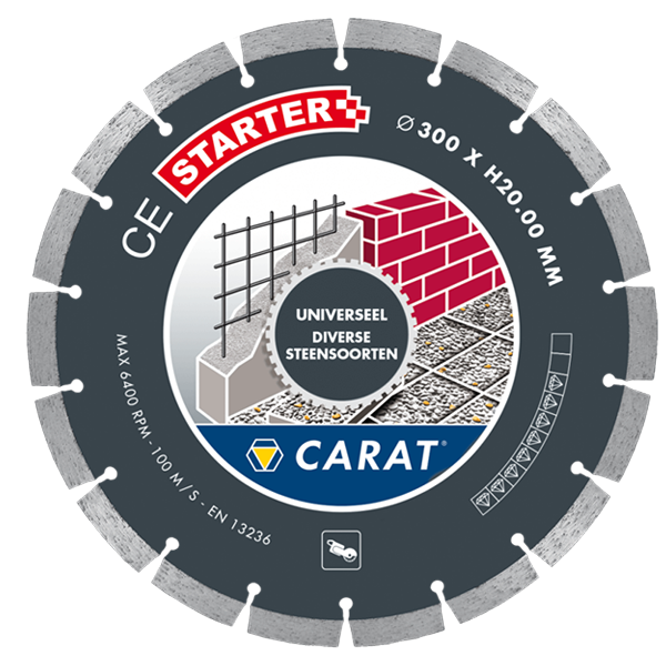 Carat diamantzaag Universeel 350 mm.